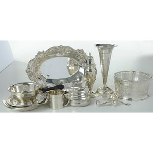 Ten Silver Items