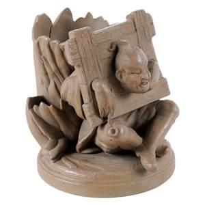 French Figural Vase