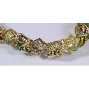 18kt. Tiffany Emerald Bracelet