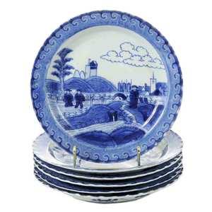 Six Kangxi Van Frijtom Style Plates
