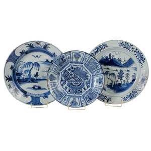 Three Delft Chargers