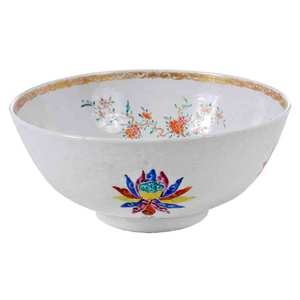 Anhua Decorated Punch Bowl