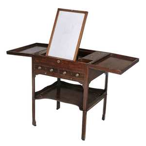 Fine Chippendale Mahogany Dressing Table