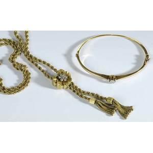 Antique Gold & Diamond Jewelry