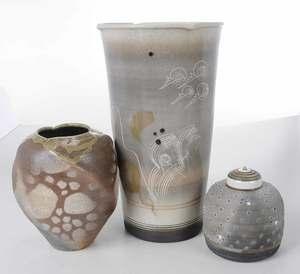 Three Pieces Jamie Davis Studio Pottery