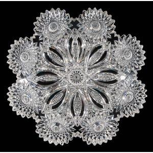 Libbey Brilliant Period Cut Glass Plate