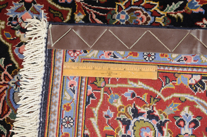 Finely  Woven Kashan Rug