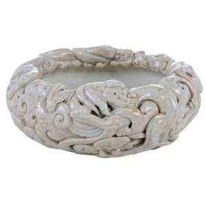Porcelain Double Dragon Bowl