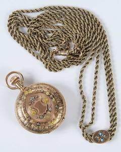 Waltham Pocket Watch & Chain