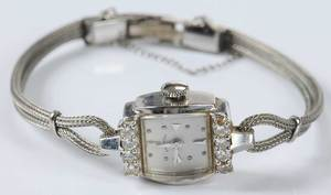 14kt. Diamond Hamilton Watch