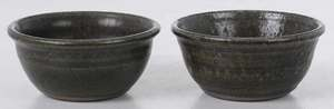 Two Lanier Meaders Stoneware Bowls