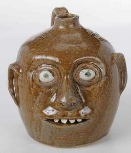 Reggie Meaders Face Jug