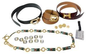 Seven Pieces of Women's Fashion Accessories