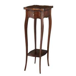 Louis XV Style Inlaid Mahogany Side Table