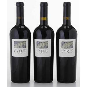 Six Bottles '01 Alexander Valley Vineyards Cyrus