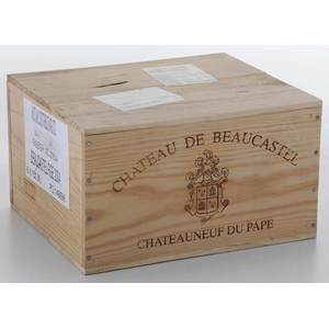 Six Bottles 2004 Chateau de Beaucastel