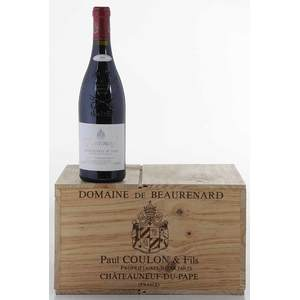 Ten Bottles 2001 Domaine de Beaurenard