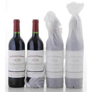 Four Bottles of 2000 Chateau Cheval Blanc