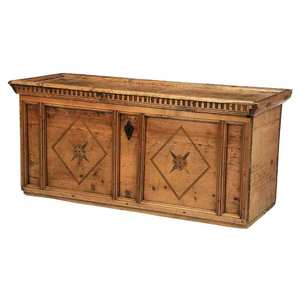 Continental Baroque Inlaid Coffer
