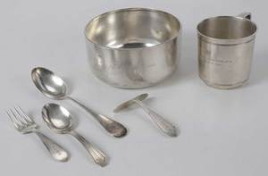 Six Sterling Children's Items