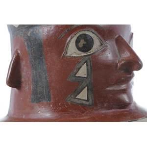 Large Wari Figural Vessel