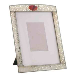 Reticulated Carved Hardstone Picture Frame
