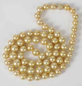 Two Pearl Necklaces