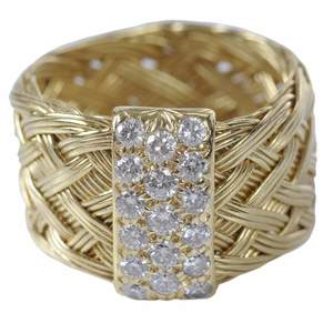 Henry Dunay 18kt. Diamond Ring