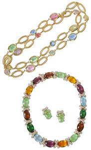 Collection of Faux Gemstone Jewelry