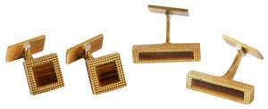 Two Pairs 18kt. Piaget Cufflinks