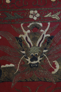 Two Chinese Embroidered Panels