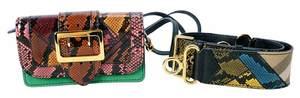Burberry Patchwork Handbag