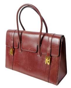Vintage Hermes Drag Handbag