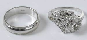 Two 14kt. Rings