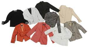 Nine Georgio Armani Clothing Items
