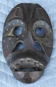 Native Alaskan Medicine Man Mask