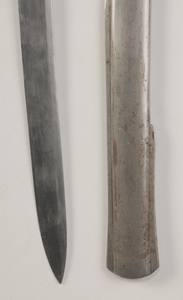 Two Antique Swords with Scabbards