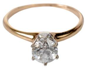 14kt. Diamond Solitaire Ring