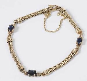 18kt. Sapphire Bracelet