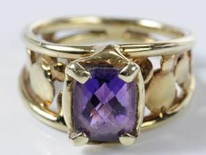 14kt. Amethyst Ring