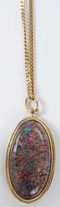 14kt. Opal Brooch/Pendant