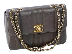 Chanel Brown Leather Handbag