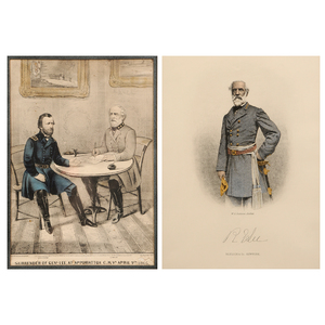 Two Robert E. Lee Framed Prints