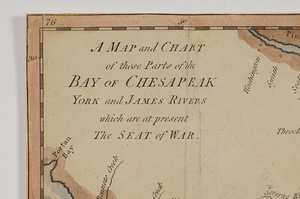 Lodge - Map and Chart of the Chesapeak