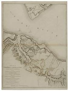 Lt. Hills - Plan of Yorktown and Gloucester