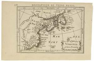 Bertius & Hondius II - Virginia et Nova Francia