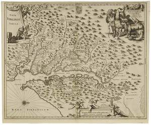 Montanus - Nova Virginiae Tabula