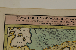 Nicolas Visscher - Nova Tabula Geographica