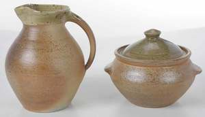 Two Pieces of Svend Bayer Pottery