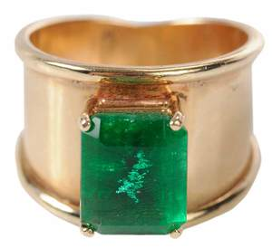 14kt. Emerald Ring